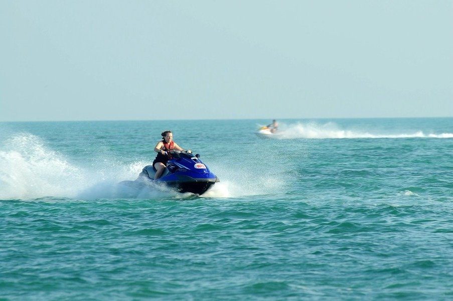 Jet Skiing at Mobor Beach - Tour