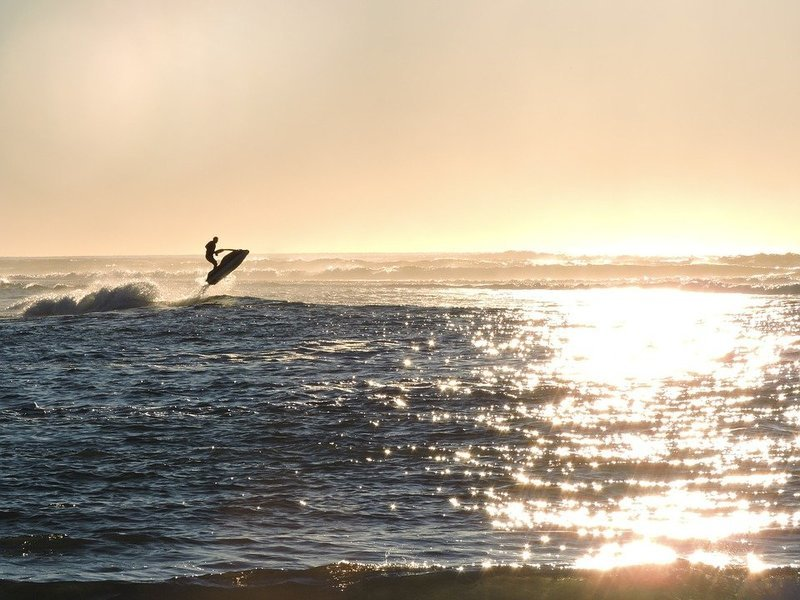 Jet Skiing at Mobor Beach - Tour