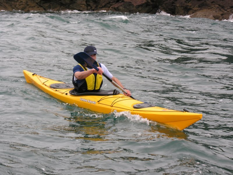 Kayaking at Mobor Beach - Tour