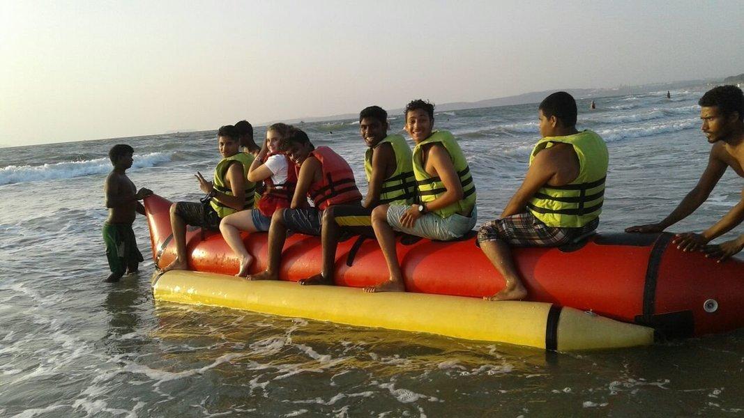 Banana Ride at Mobor Beach - Tour