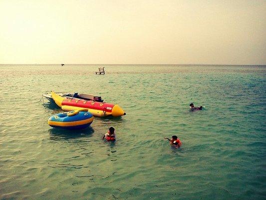 Banana Boat Ride at Candolim - Tour