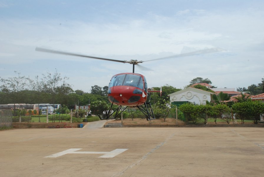 Private 20 minute helicopter Joy ride on Helicopter Enstrome - Tour