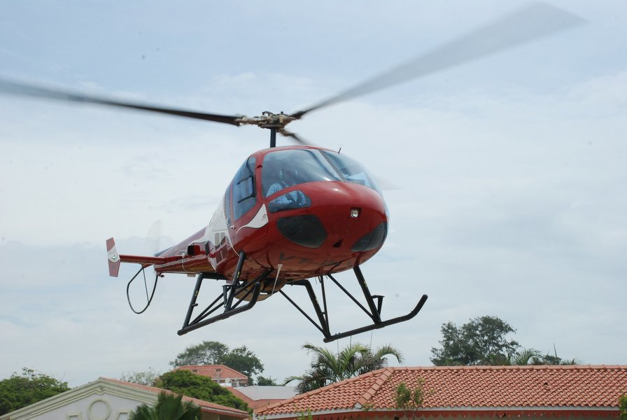 Private 30 minute helicopter Joy ride on Helicopter Enstrome - Tour
