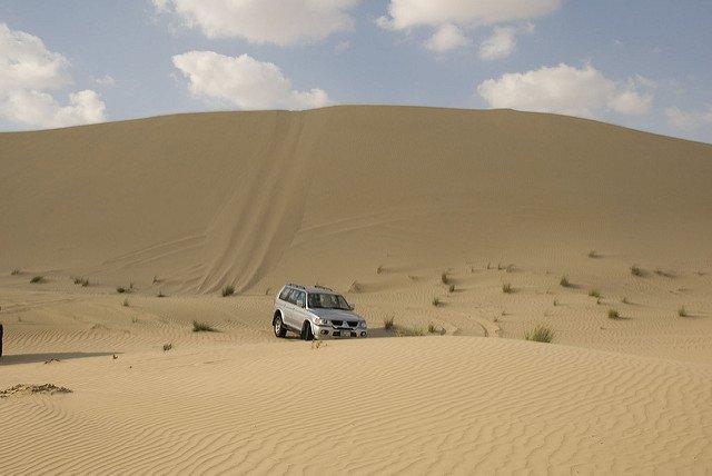 Dune Bashing - Tour