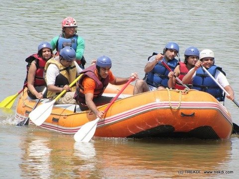 White Water Rafting at Kolad - Tour