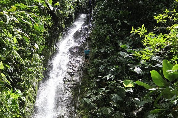 Waterfall Rappelling at Bekare Waterfall - Tour