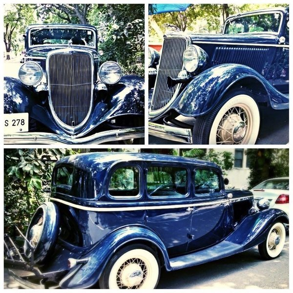 Vintage Ford B 1934 Model - Day Rental - Tour