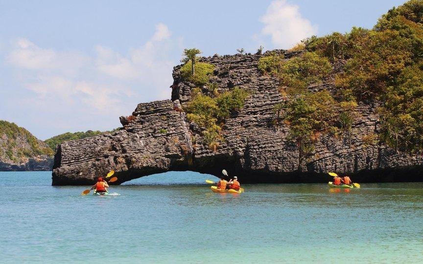 Angthong Marine National Park Tour(Koh Samui) by Speedboat with Snorkelling & Kayaking - Tour