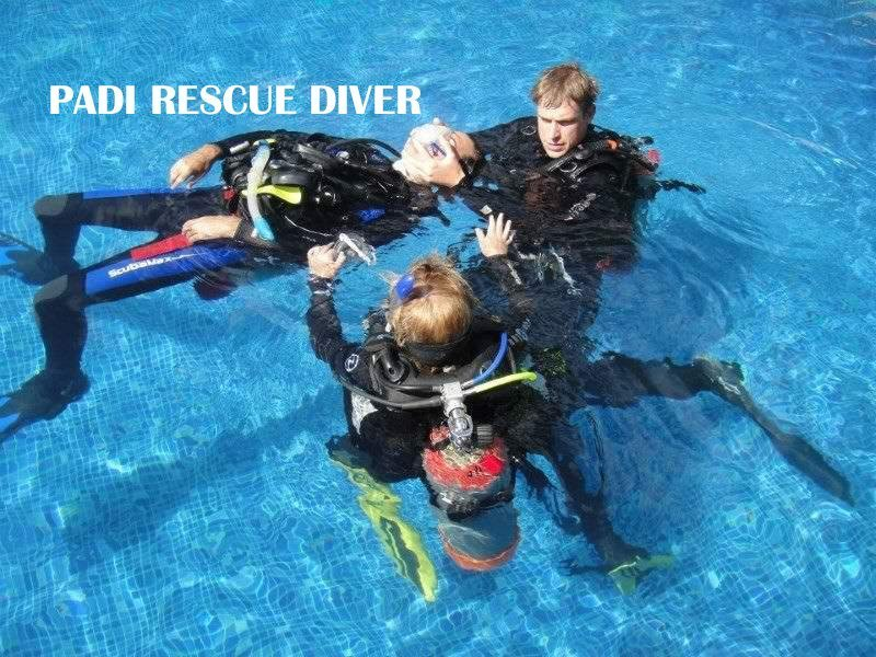 PADI Rescue Diver Course - Tour