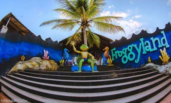 Froggyland Water World - Tour