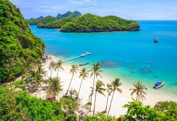 Angthong Marine Park from (Koh Phagan) by Speed boat with Snorkeling & Kayaking SIC - Tour