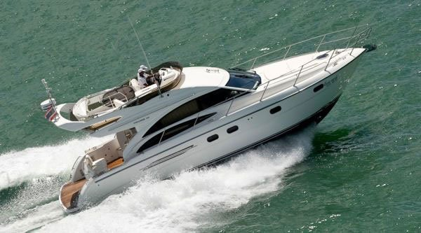 Princess yacht on hire in Goa - Tour