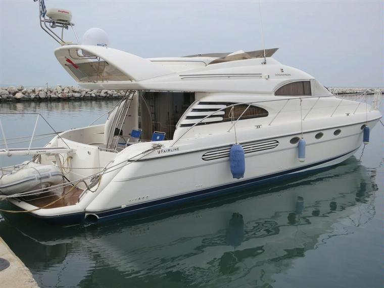 Fairline yacht Charter Goa - Tour