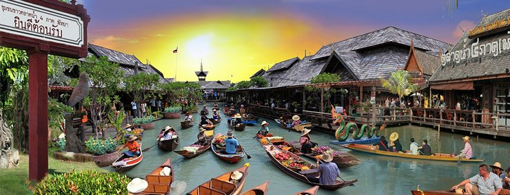 Pattaya Floating Market - Tour