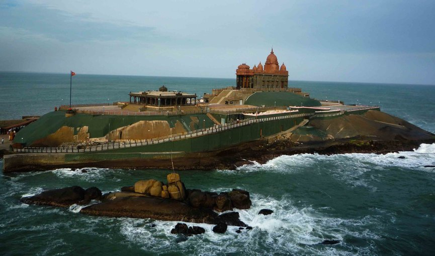 Kanyakumari - Kovalam - Alleppey - Thekkady - Munnar - Tour