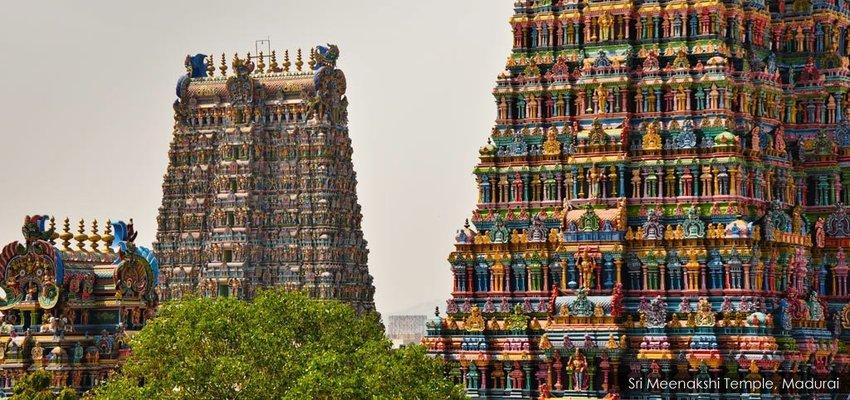 Kovalam - Kanyakumari - Rameswaram - Madurai - Munnar - Thekkady - Alleppey - Cochin - Tour