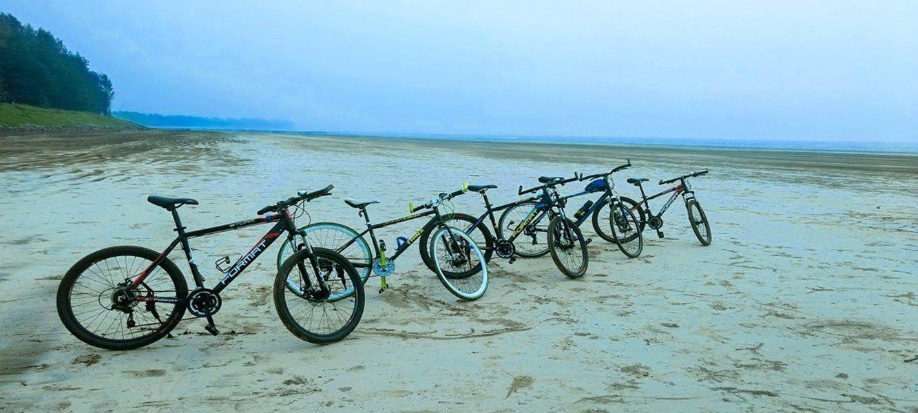 Alibaug Beach Cycling - Tour