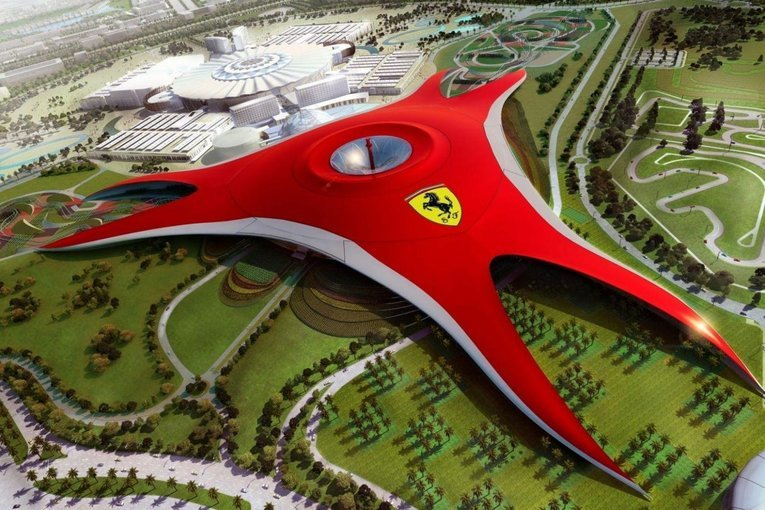 Dubai with Abu Dhabi & Ferrari Park - Tour