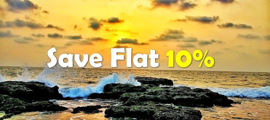 SAVE FLAT 10% ON BOOKINGS - Coupon
