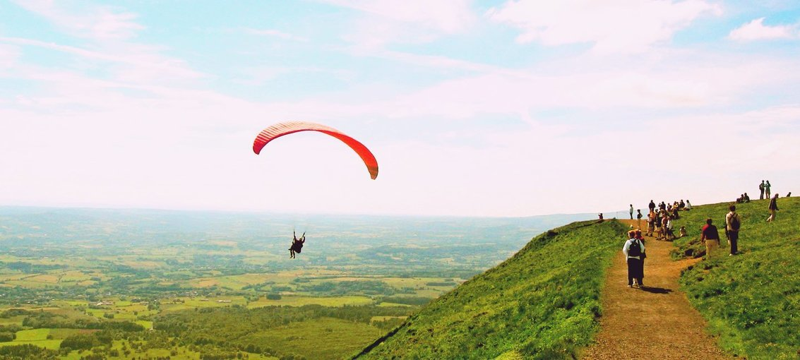 Flying With Wind - Paragliding @ Kamshet - Tour