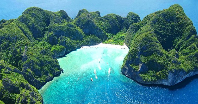 Phi Phi Island from Krabi by Speedboat - Tour