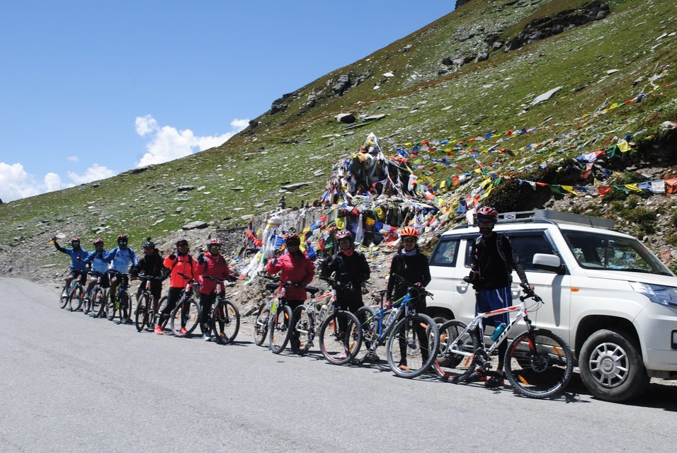 Manali To Rohtang Pass Cycling Expedition - Tour