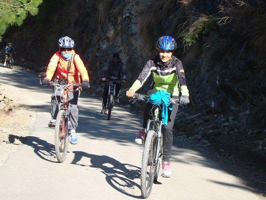 Manali Cycling - Tour