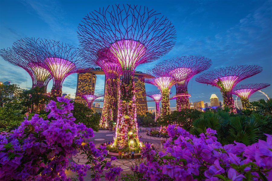 Singapore, Malaysia with Cruise - Tour