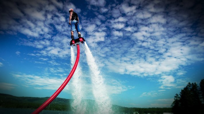 Fly Boarding in Goa - Tour