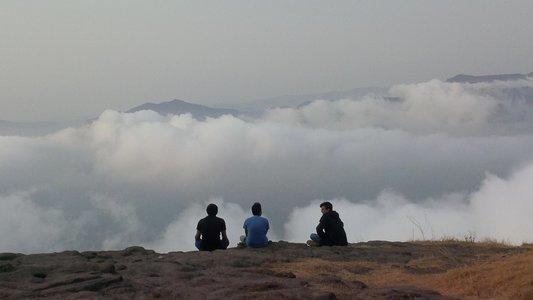 Harishchandragad Fort Trek Cloud Special