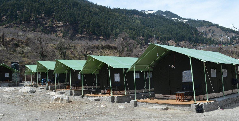 Highlander Camps, Manali - Tour