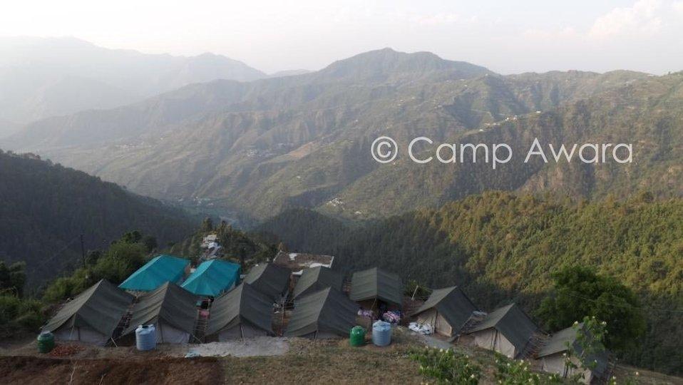 Camp Awara, Dhanaulti - Tour
