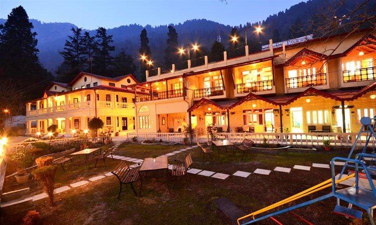 The Pavilion Hotel, Nainital - Tour