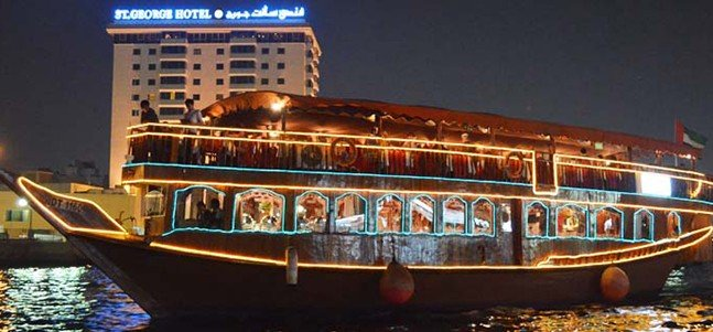 Dhow Cruise Dinner - Creek (TICKET ONLY) - Tour