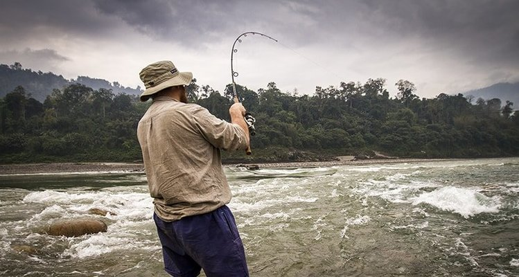 India Angling Siang Fishing Trip - Tour