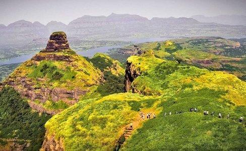 VRangers Ratangad Trek-Bhandardara