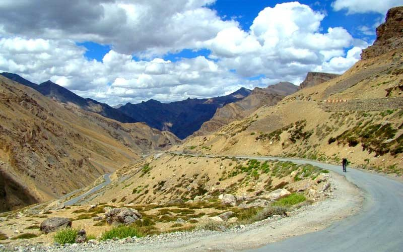 Manali Leh Khardung La Cycling Expedition - Tour