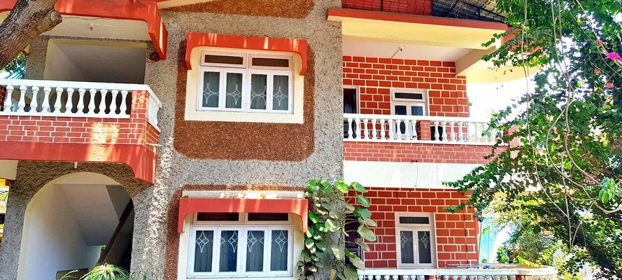 2 bedroom budget apartments Candolim - Tour