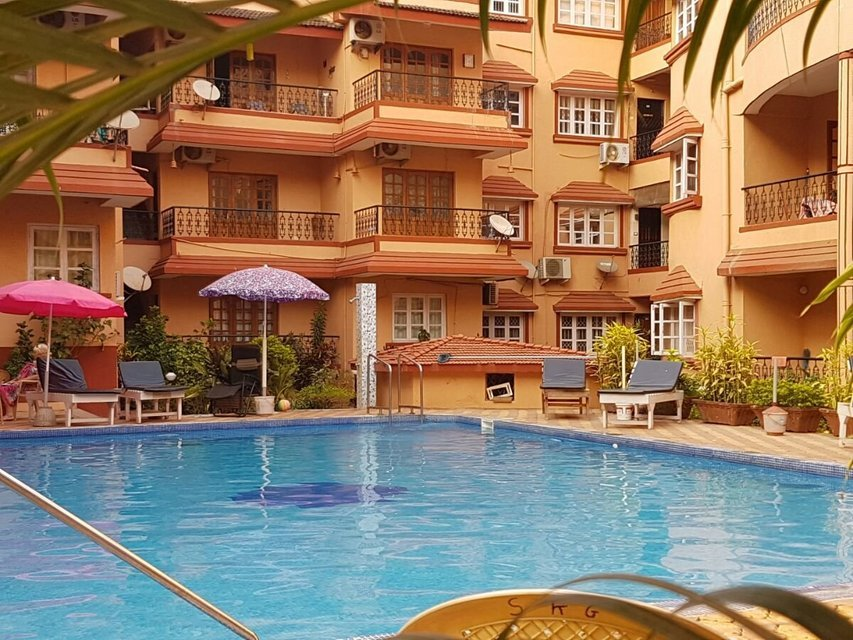 1 bedroom apartments Baga-Calangute - Tour