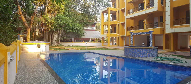 2 bedroom apartment Candolim - Tour