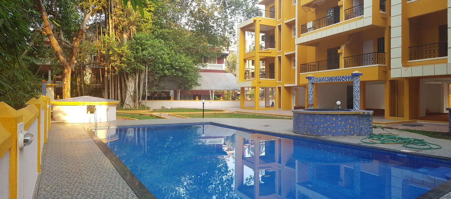 2 bedroom apartment Candolim - Tour