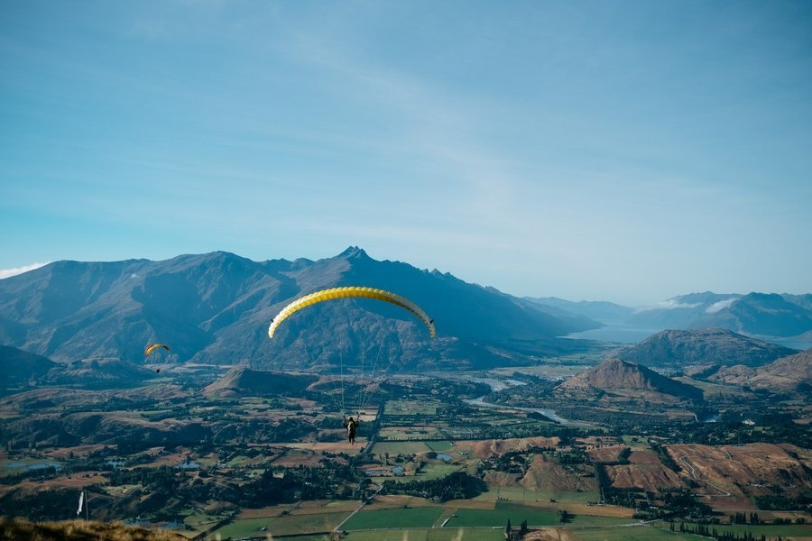 Paragliding in Solang Valley (Long Fly) Call now 8923779944 - Tour