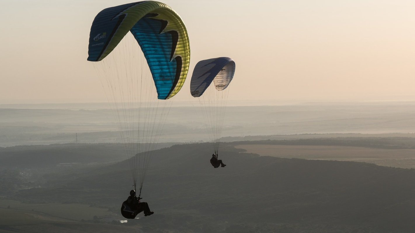Paragliding in Manali - Collection