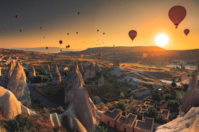 Cappadocia Balloon Tours with Champagne Celebration - Tour