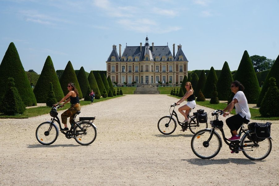 Paris-Versalhes de bike   01 dia (com guia) - Tour