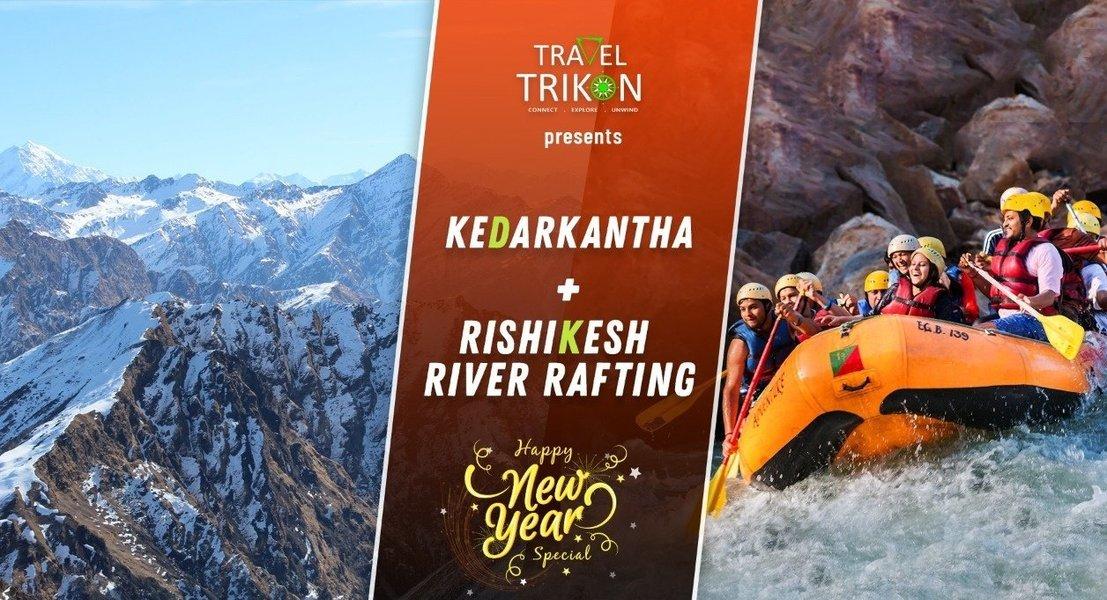 New Year Special Kedarkantha Trek and Rishikesh Rafting - Tour