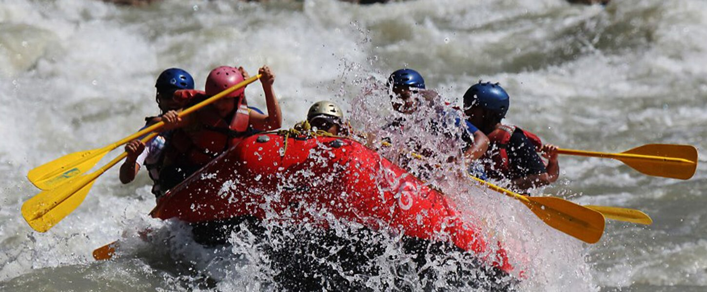 Brave the Rapids of The Ganges