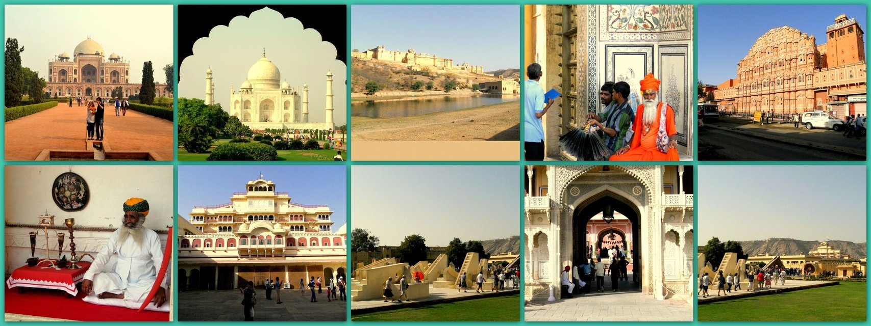 Delhi-Agra-Jaipur Golden Triangle - Tour