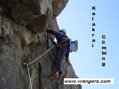 VRangers Kalakrai climbing