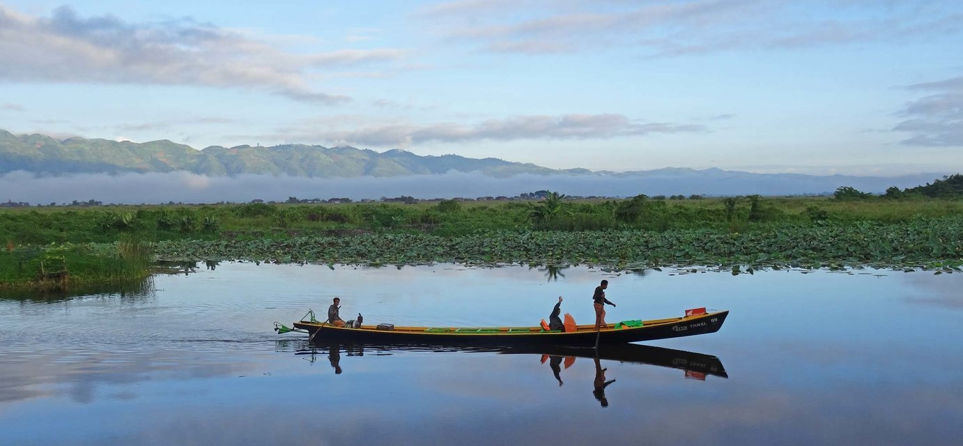 4-Day Lake Inle Cycling And Boating Tour - Tour